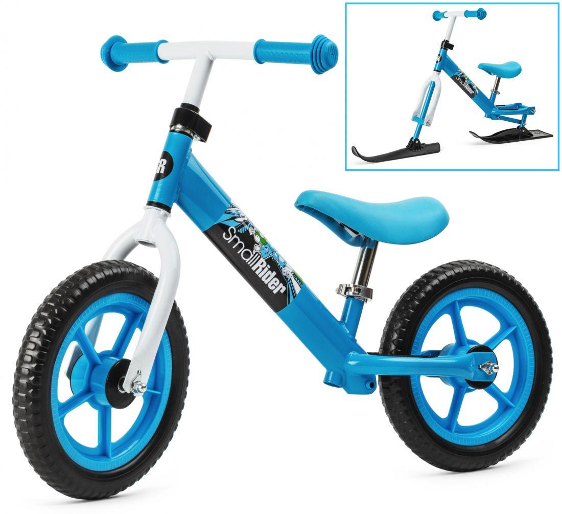 Беговел на лыжах Small Rider Combo Racer (Бело-синий)