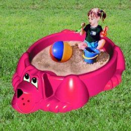 Детская песочница-бассейн Собачка