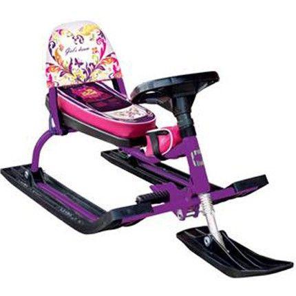 Снегокат Барс Comfort Auto Dream (фиолетовый)