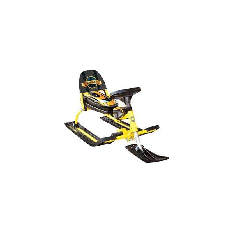 Снегокат Барс Comfort Auto Rider (желтый)
