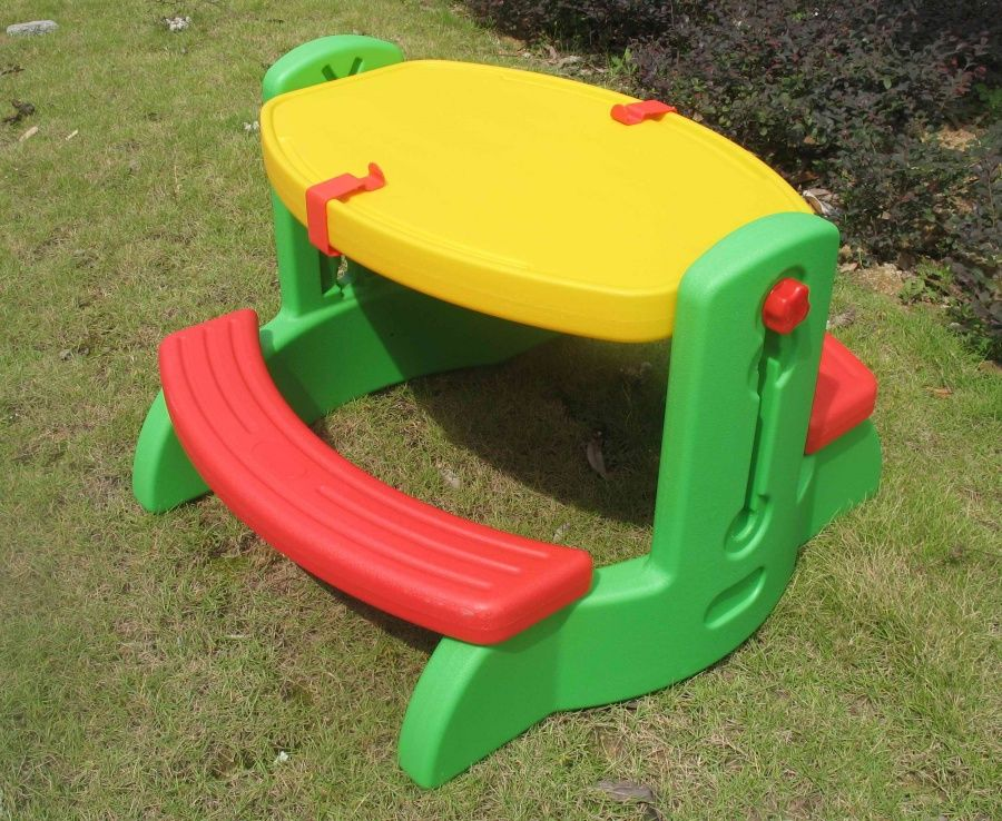 Детский столик со скамейкой SunnyBaby YG-6009