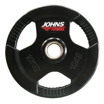 Диск 10 кг. обрезиненный JOHNS (91010-10 В)