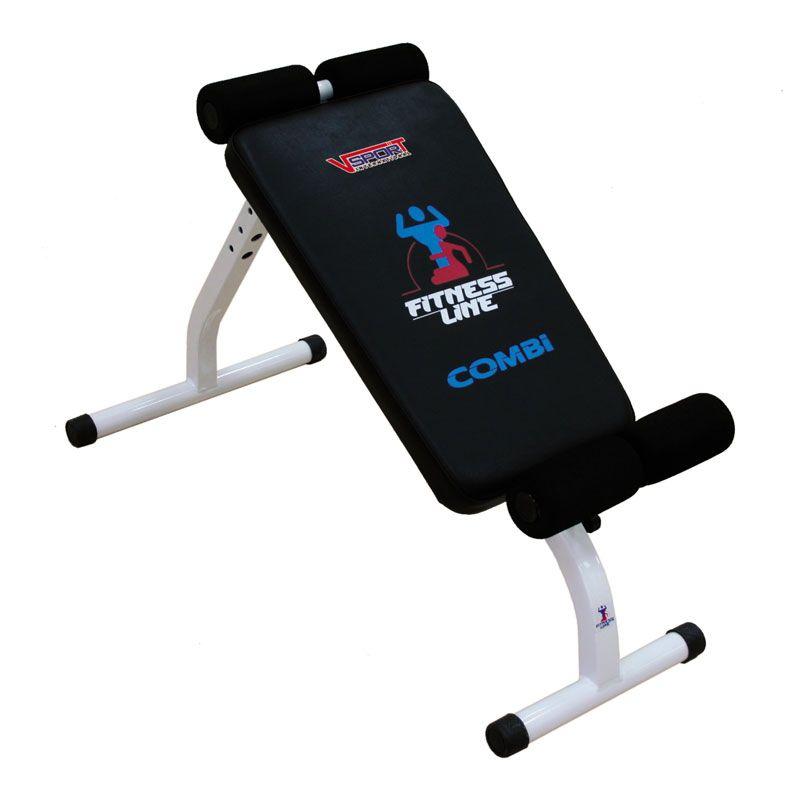 Тренажер – скамейка комбинированная для пресса и гиперэкстензия СТ - 004 V-sport