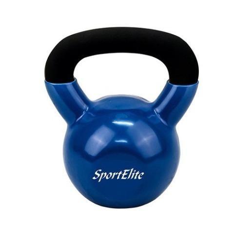Гиря чугунная обрезиненная SportElite 32 кг
