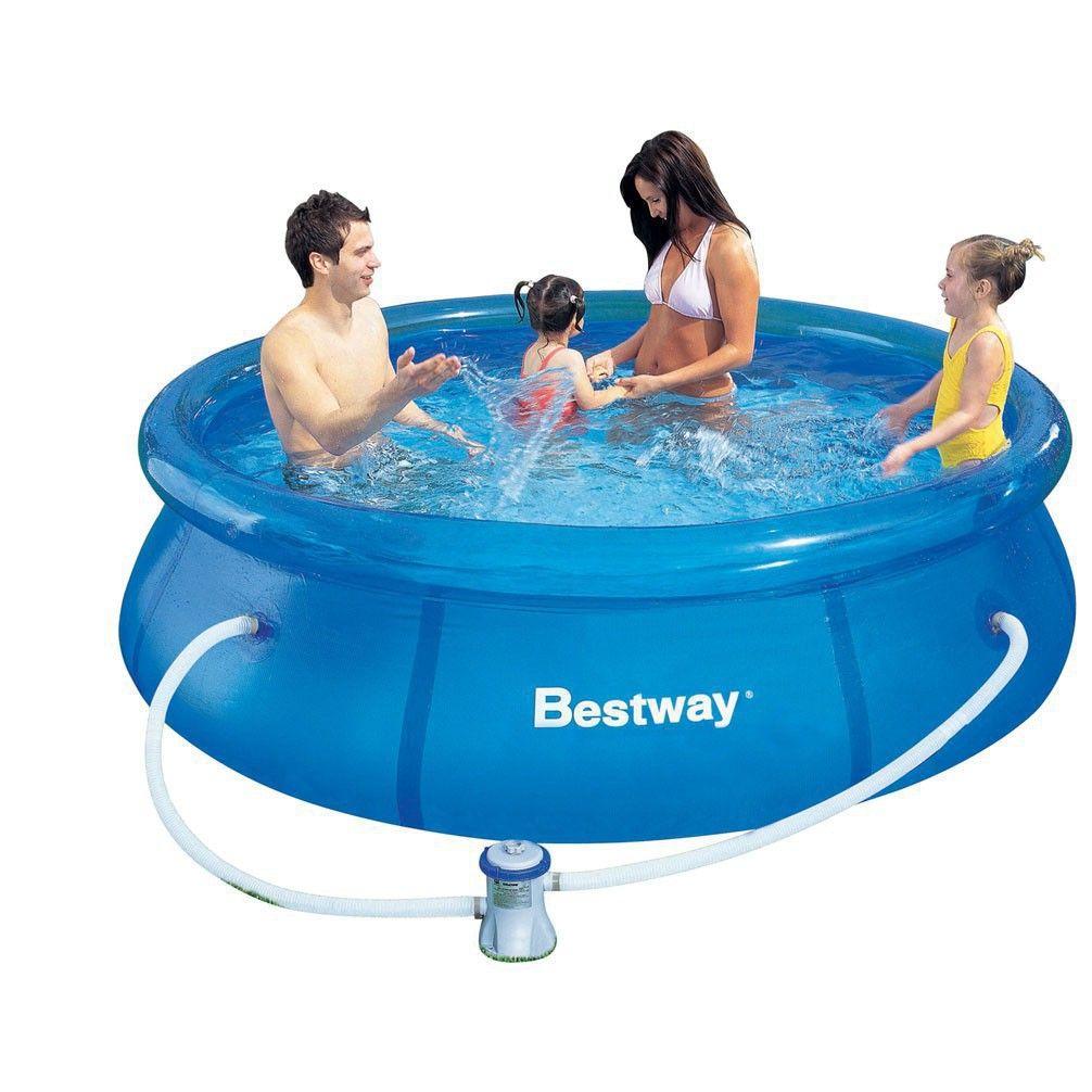 Надувной бассейн 57100 Bestway
