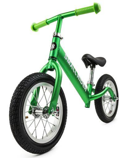 Беговел на лыжах Small Rider Air (зеленый металлик)