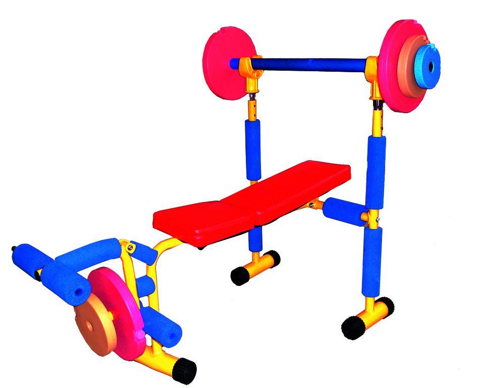 """Тренажер Baby Gym """"Скамья под штангу"""" (LEM-KWB-001)"""