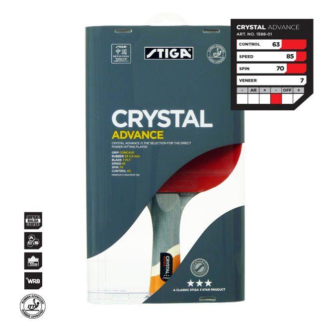 Ракетка Stiga Crystal Advance ***