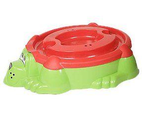 Детская песочница-бассейн Собачка с крышкой