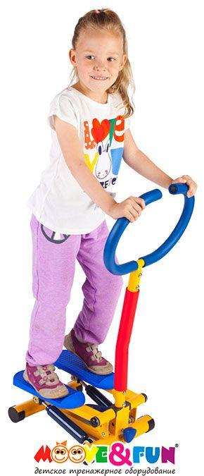 Тренажер детский механический Степпер с ручкой Moove&Fun SH-10