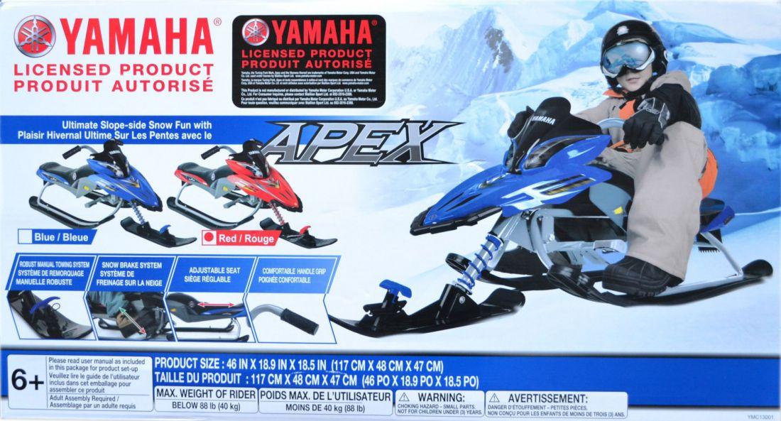 Снегокат Yamaha Apex (красный)