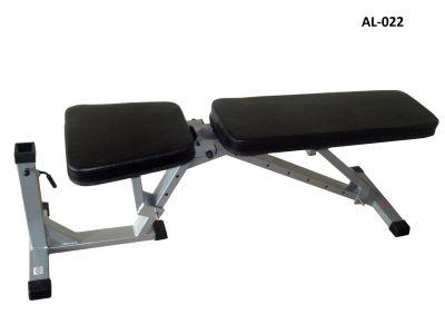 Скамья для пресса прямая (с возможностью доп. опций) AlivSport AL-022