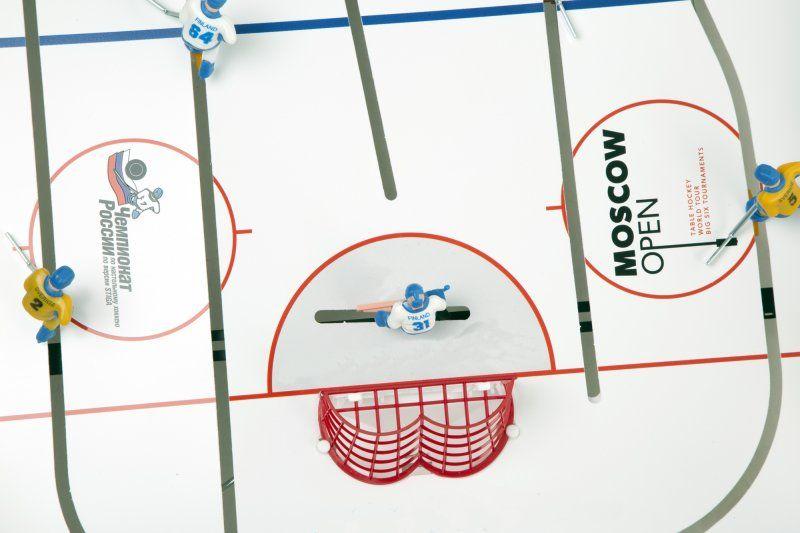 Игровой стол - настольный хоккей «Stiga Play Off» (95 x 49 x 16 см, цветной) 59.001.02.0 STIGA