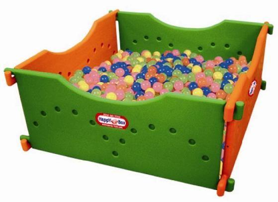 JM-806A Игровой сухой бассейн 4 секции Happy Box