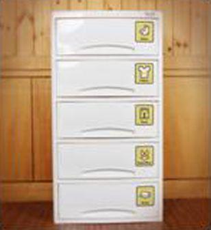 Детский комод для хранения 5-х секционный  Haenim toys HN7-505 Baby Step(5) (большой)