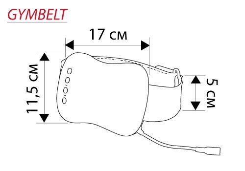 Пояс для похудения (тренажер для мышц) ДжимБелт Casada