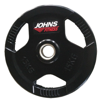 Диск 15 кг. обрезиненный JOHNS (91010-15 В)