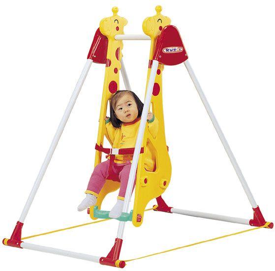 """DS-707 детские качели """"Жираф"""" для одного ребенка Haenim toy"""