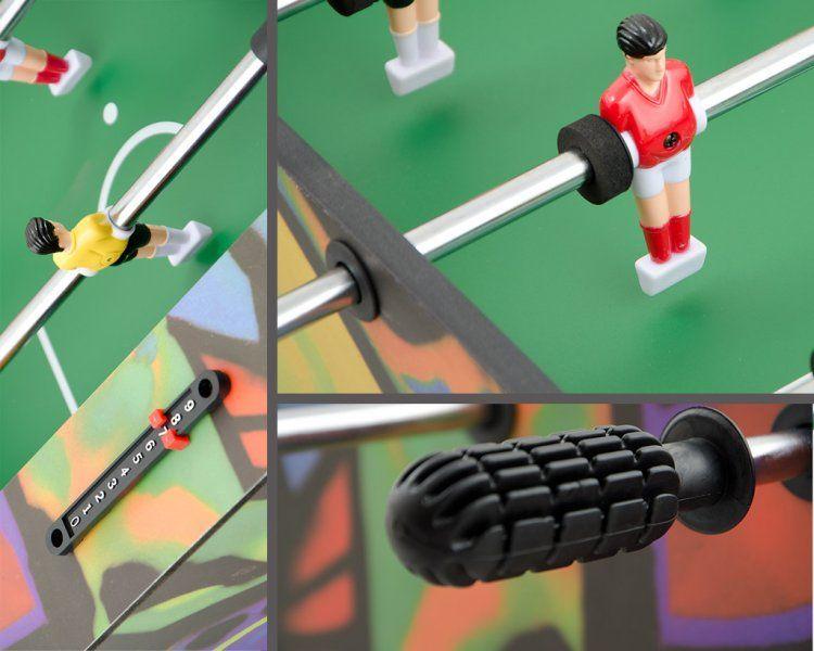 Игровой стол футбол (кикер) Derby (96x52x23см, цветной) 51.306.03.0