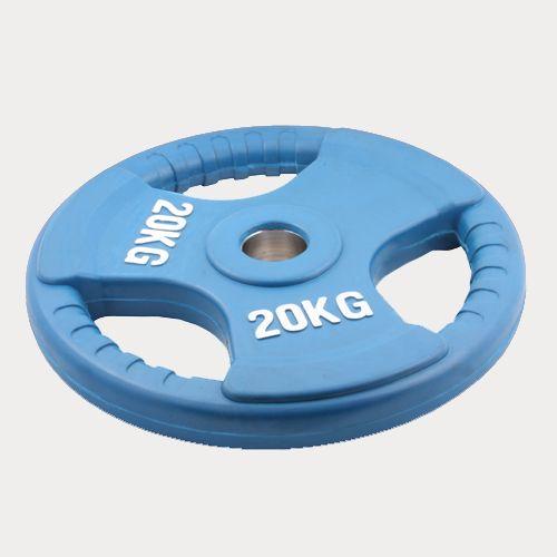 Олимпийский диск евро-классик с тройным хватом Oxygen, 20 кг.
