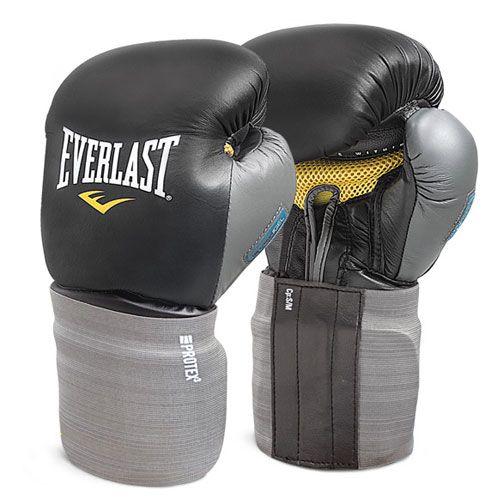 Перчатки боксерские Тренировочные Everlast Protex3 EverGel EVPT3TG