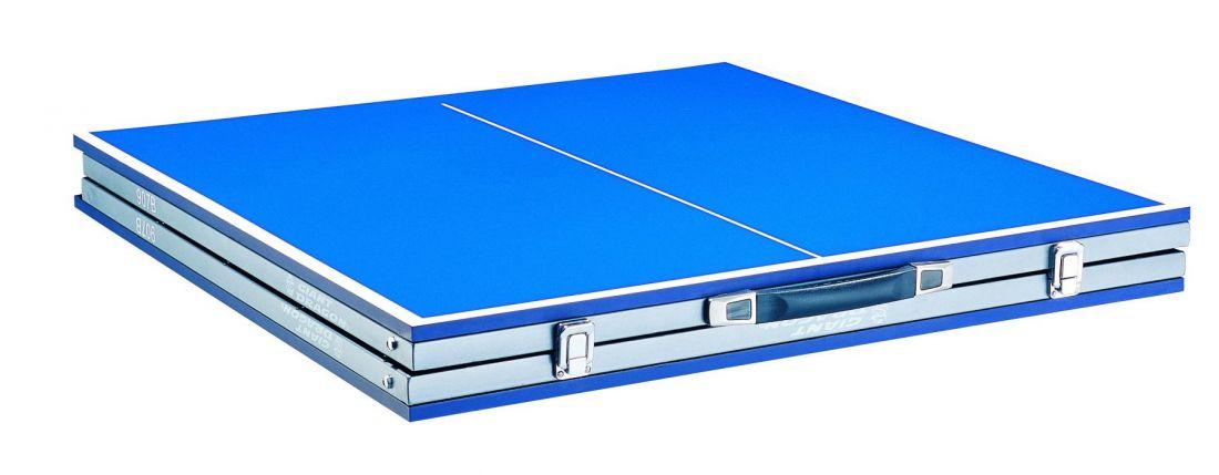 Складной стол для настольного тенниса GIANT DRAGON 907B (soul) + набор ракеток с мячиками