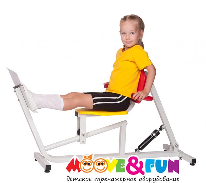 Детский тренажер Жим ногами Юниор PRO MF-E07