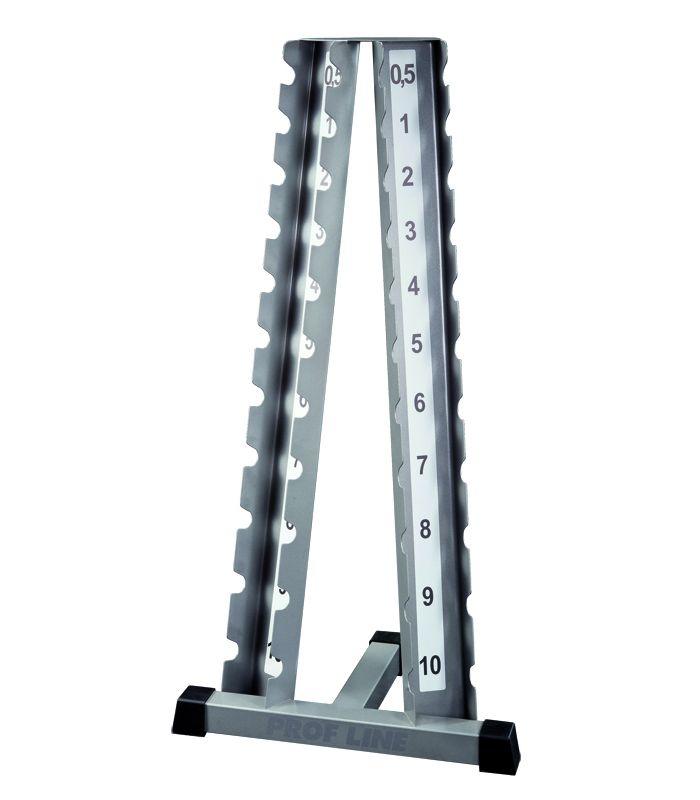 Cтойка под гантели хромированные ( 0.5-10 кг ) V-SPORT БТ-403