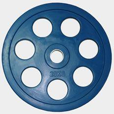 "Олимпийский диск евро-классик с хватом ""Ромашка"" Oxygen, 20 кг."