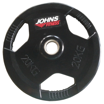Диск 20 кг. обрезиненный JOHNS (91010-20 В)