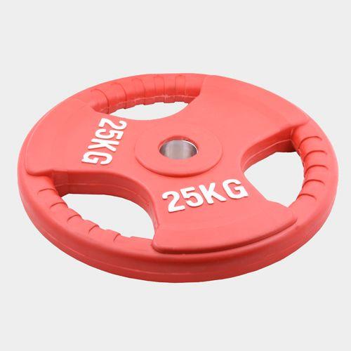 Олимпийский диск евро-классик с тройным хватом Oxygen, 25 кг.
