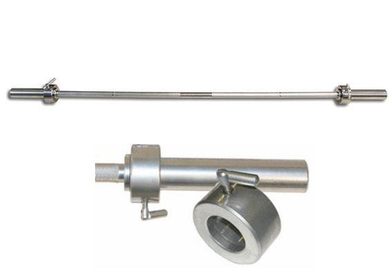Гриф прямой MB Barbell Длина 200см. Д-50-мм