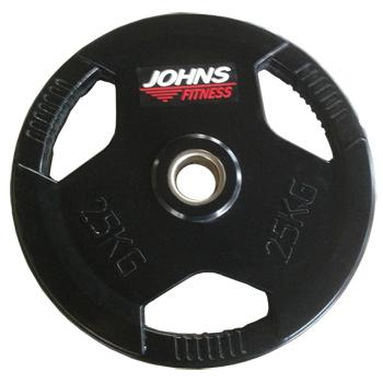Диск 25 кг. обрезиненный JOHNS (91010-25 В)