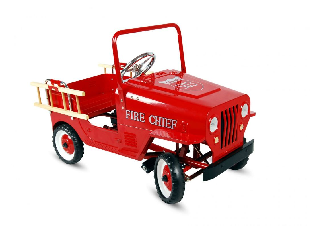 Педальная машинка TVL Fire