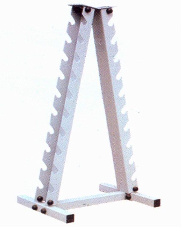 Стойка для гантелей вертикальная (на 10 пар) R912