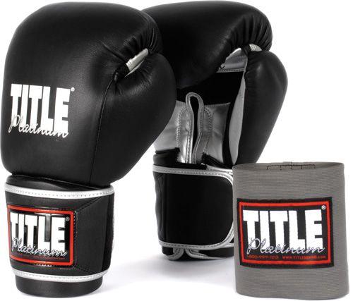Перчатки тренировочные TITLE Paramount Sparring PPBSG