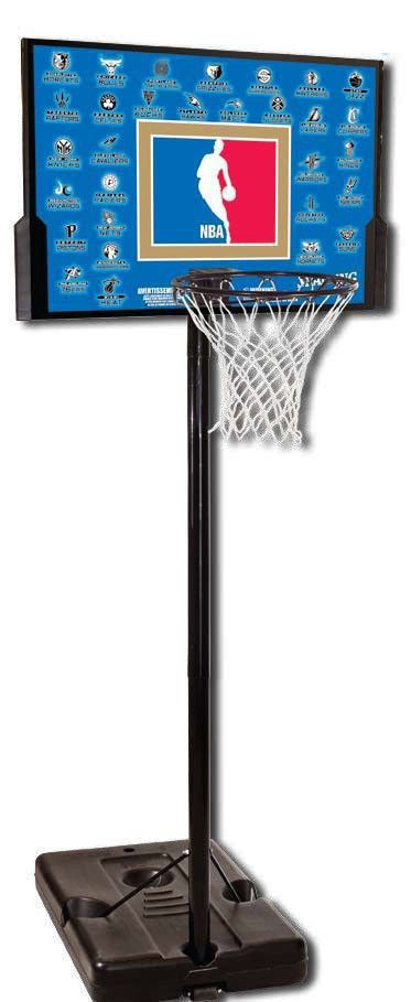 Стойка баскетбольная 63501CN Spalding NBA Teams 44