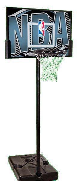 Стойка баскетбольная 63502CN Spalding NBA Logoman 44