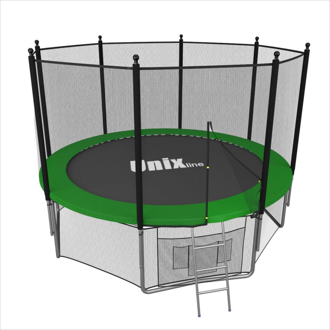 Батут UNIX line 6 ft outside (Green)