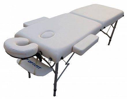 Складной массажный стол OPTIFIT ROYAL MT-45 белый