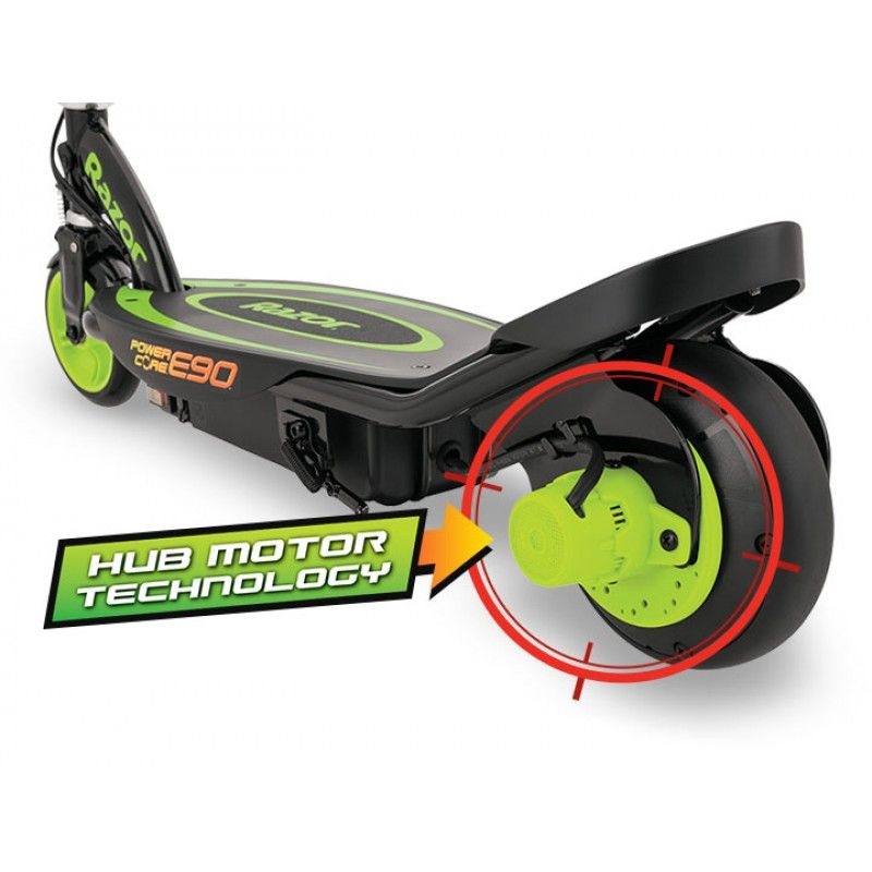 Электросамокат Razor Power Core E90 Зелёный 011307