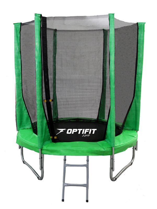 Батут OPTIFIT JUMP 8FT зеленый