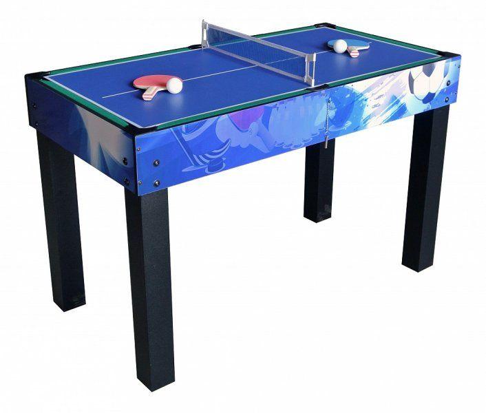 Многофункциональный игровой стол 12 в 1 Universe (синий)