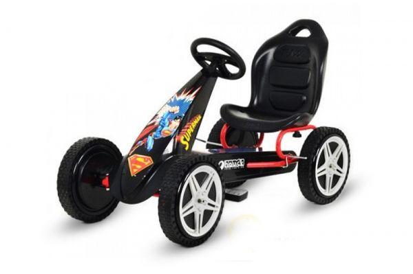 Детский педальный веломобиль Profi Super Man