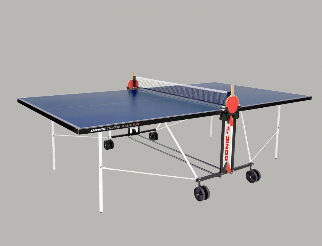 Теннисный стол Donic Indoor Roller FUN синий 230235-B