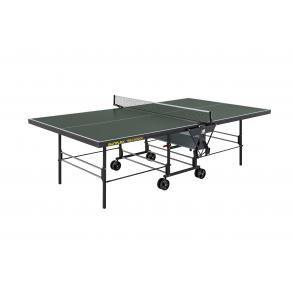 Теннисный стол тренировочный Sunflex True Indoor зеленый 202.5030/SF