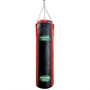 Мешок боксерский с подвесной системой Green Hill 180*30 см PBS