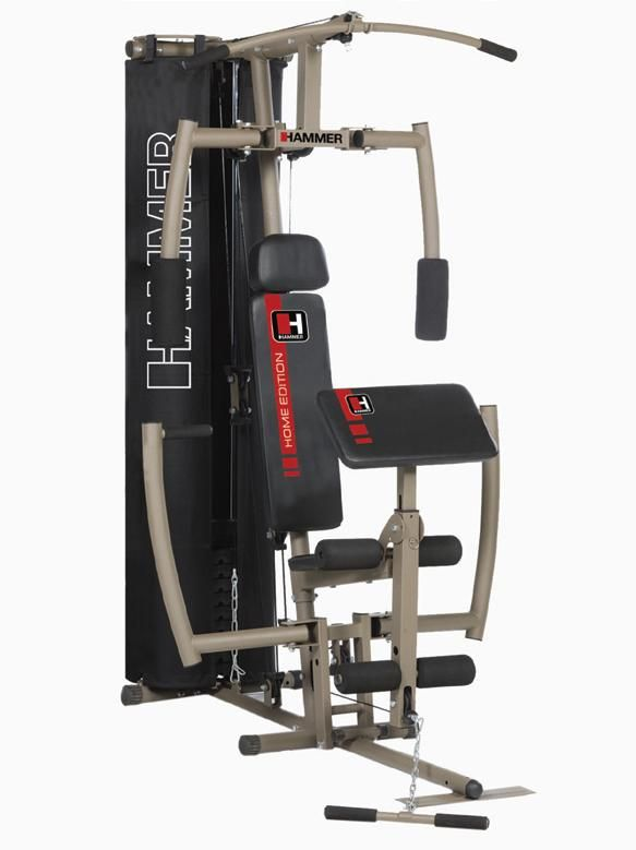 Тренажер силовой Hammer Ferrum Pro II 9093 (210х110х205)