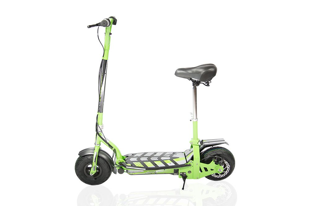 Электросамокат SAMBIT UBER SCOOT 300 GREEN 221-17