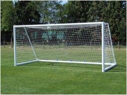 Ворота футбольные алюминиевые 5,6 х 2,35 м